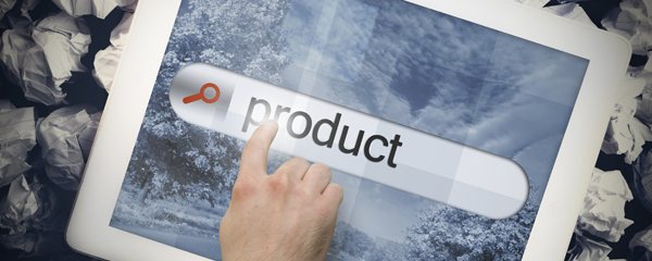 product button on tablet