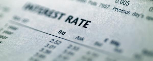 interest rate sheet