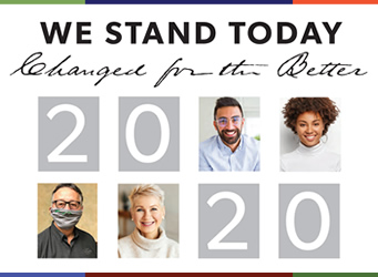 We Stand Today, Changed For The Better
